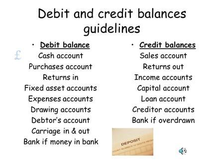 a debit balance in the allowance for doubtful accounts